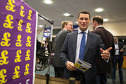 © Licensed to London News Pictures . 25/09/2015 . Doncaster , UK . STEVEN WOOLFE at the 2015 UKIP Party Conference at Doncaster Racecourse , this morning (Friday 25th September 2015) . Photo credit : Joel Goodman/LNP