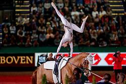 CAVALLARO Anna (ITA), Monaco Franze 4<br /> Leipzig - Partner Pferd 2020<br /> FEI Top Indoors Vaulting Masters (CVI)<br /> 1. und 2. Umlauf Damen, international<br /> 18. Januar 2020<br /> © www.sportfotos-lafrentz.de/Stefan Lafrentz