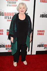 May 1, 2019 - Pasadena, CA, USA - LOS ANGELES - MAY 1:  June Squibb at the ''The Big Bang Theory'' Series Finale Party at the Langham Huntington Hotel on May 1, 2019 in Pasadena, CA (Credit Image: © Kay Blake/ZUMA Wire)