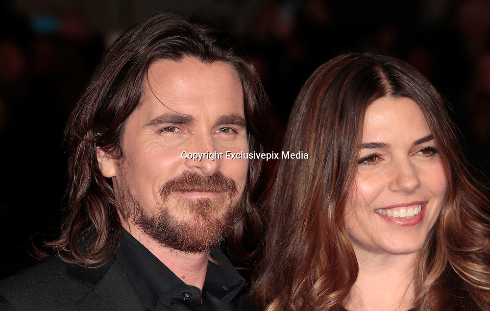 Dec 3, 2014 - Exodus: Gods And Kings World Premiere - VIP Red Carpet Arrivals at Odeon,  Leicester Square, London<br /> <br /> Pictured: Christian Bale; Sibi Blazic<br /> ©Exclusivepix Media