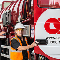 CSG - Warrington - Employee onsite with tanker