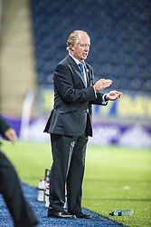 Cowdenbeath's manager Jimmy Nicholl.<br /> Falkirk beat Cowdenbeath in a penalty shoot-out, second round League Cup tie played at The Falkirk Stadium.