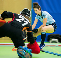VIANEN - Maxime Kerstholt (Lar)  Zaalhockey Laren-Oranje Rood dames.  COPYRIGHT KOEN SUYK