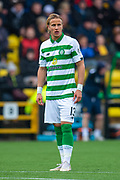Mortiz Bauer (#13) of Celtic FC during the Ladbrokes Scottish Premiership match between Livingston FC and Celtic FC at The Tony Macaroni Arena, Livingston, Scotland on 6 October 2019.