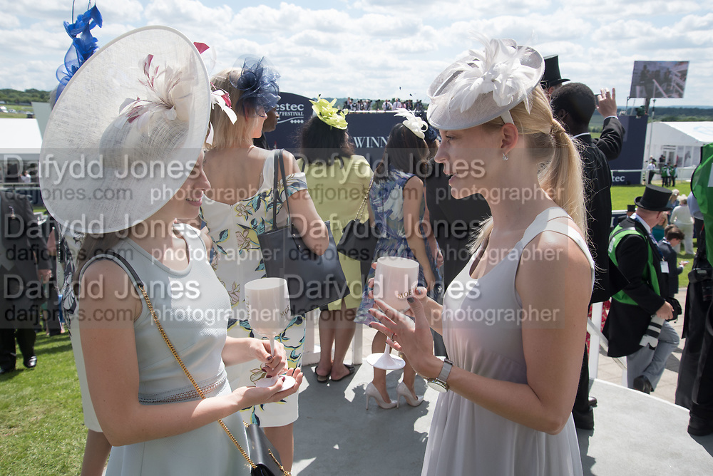 LARA CONWAY-WATES; LUCY ROSSITER, Investec Derby, Epsom. June 2 2018