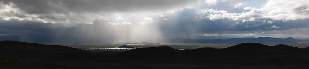 Mountain scenery in Modrudalur, highlands of Iceland - Fjallasýn í Möðrudal