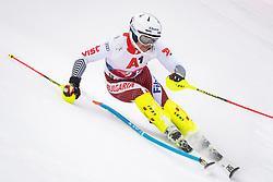 26.01.2020, Streif, Kitzbühel, AUT, FIS Weltcup Ski Alpin, Slalom, Herren, im Bild Albert Popov (BUL) // Albert Popov of Bulgaria in action during his run in the men's Slalom of FIS Ski Alpine World Cup at the Streif in Kitzbühel, Austria on 2020/01/26. EXPA Pictures © 2020, PhotoCredit: EXPA/ Johann Groder