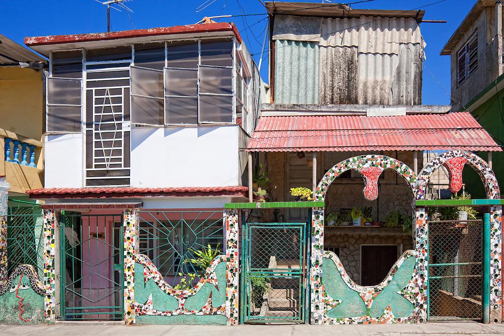 Mosaics by Jose Fuster in Jaimanitas, Havana, Cuba.