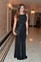 Model LUCY PINDER at the David Shepherd Wildlife Foundation 30th anniversary Wildlife Ball at The Dorchester, Park Lane, London on 10th October 2014.
