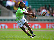 LONDON, ENGLAND - Saturday 10 May 2014, during the match between South Africa and Portugal at the Marriott London Sevens rugby tournament being held at Twickenham Rugby Stadium in London as part of the HSBC Sevens World Series.<br /> Photo by Roger Sedres/ImageSA