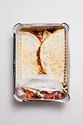 Soy Chorizo Quesadillas from Loco Pez ($10.46)