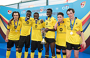 HKFC Citibank Soccer sevens Cup final Aston Villa vs West Ham United. Aston Villa take the cup