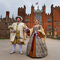 "Hampton Court April 9th  Hampton Court Palace, King Henry VIII's most famous Royal residence launches ""Heads and Hearts"" a year long program of exhibitions and events marking the 500th annyversary of the Tudor Monarch's accession to the throne...***Standard Licence  Fee's Apply To All Image Use***.Marco Secchi /Xianpix. tel +44 (0) 845 050 6211. e-mail ms@msecchi.com or sales@xianpix.com.www.marcosecchi.com"
