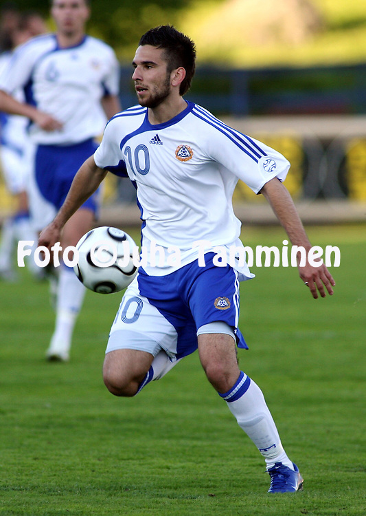 01.06.2007, Tehtaankentt?, Valkeakoski, Finland..Internationational friendly.Finland U-21 v England Conference U-23.Tomi Petrescu - Finland U-21.©Juha Tamminen.....ARK:k