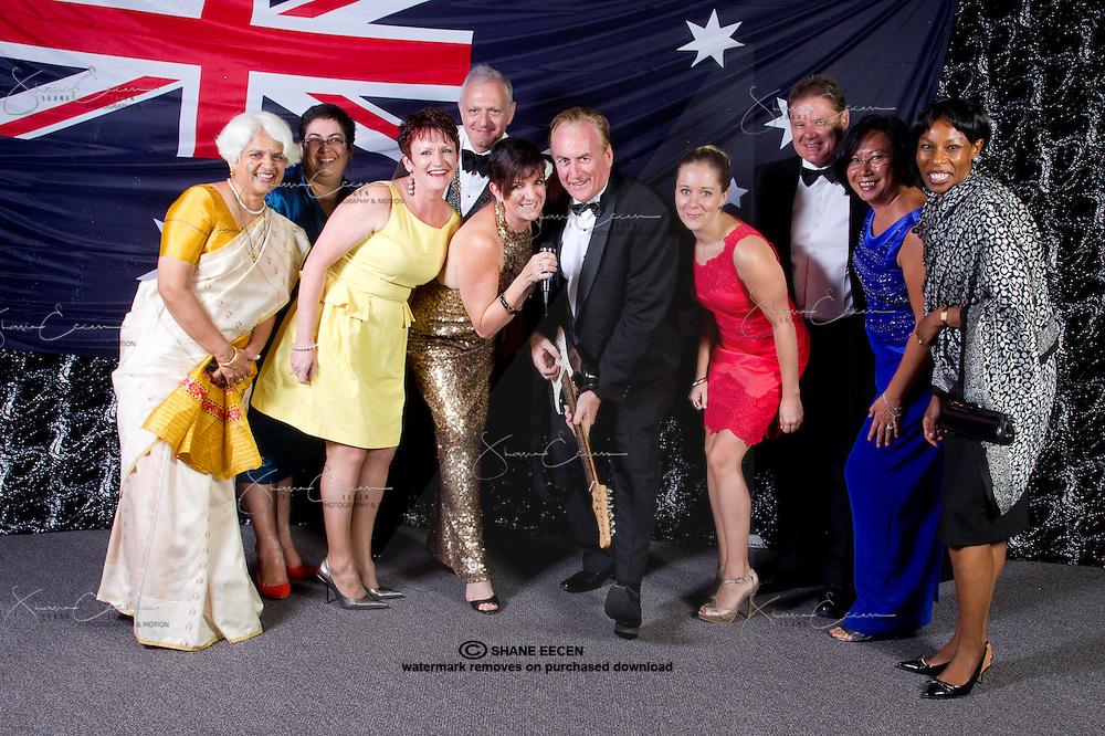 Australia Day Ball 2013. Darwin Convention Centre. Photo Shane Eecen