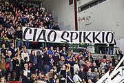 Tifosi Dolomiti Energia Trentino Trento, Omaggio a Spikkio<br /> Banco di Sardegna Dinamo Sassari - Dolomiti Energia Trentino Trento<br /> LBA Legabasket Serie A 2019-2020<br /> Sassari, 25/01/2020<br /> Foto L.Canu / Ciamillo-Castoria