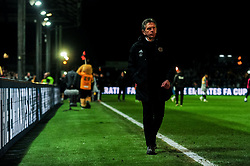 Leicester City manager Claude Puel leaves the pitch after the final whistle of the match - Mandatory by-line: Ryan Hiscott/JMP - 06/01/2019 - FOOTBALL - Rodney Parade - Newport, Wales - Newport County v Leicester City - Emirates FA Cup third round proper