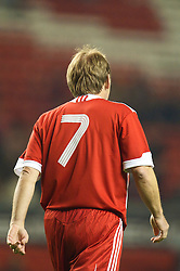 LIVERPOOL, ENGLAND - Thursday, May 14, 2009: Liverpool Legends' number seven player/manager Kenny Dalglish during the Hillsborough Memorial Charity Game at Anfield. (Photo by David Rawcliffe/Propaganda)