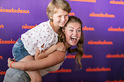 2019, August 25. Almere Strand, the Netherlands. Britt Scholte at the Nickelodeon Family Festival.
