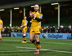 Dan Robson of Wasps - Mandatory by-line: Alex James/JMP - 25/01/2020 - RUGBY - Sixways Stadium - Worcester, England - Worcester Warriors v Wasps - Gallagher Premiership Rugby