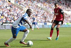 Reading's Royston Drenthe on a run at goal - Photo mandatory by-line: Nigel Pitts-Drake/JMP - Tel: Mobile: 07966 386802 03/08/2013 - SPORT - FOOTBALL -  Madejski Stadium - Reading -  Reading v Ipswich Town - Sky Bet Championship