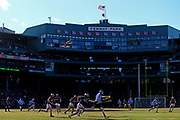 A view of the match between Dublin and Galway during the 2017 AIG Fenway Hurling Classic and Irish Festival at Fenway Park on November 19, 2017 in Boston, Massachusetts.