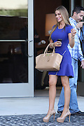 22.SEPTEMBER.2013. LOS ANGELES<br /> <br /> SOFIA VERGARA LOOKING FIERCE IN A BLUE DRESS OUT AND ABOUT IN LOS ANGELES, USA<br /> <br /> BYLINE: EDBIMAGEARCHIVE.CO.UK<br /> <br /> *THIS IMAGE IS STRICTLY FOR UK NEWSPAPERS AND MAGAZINES ONLY*<br /> *FOR WORLD WIDE SALES AND WEB USE PLEASE CONTACT EDBIMAGEARCHIVE - 0208 954 5968*