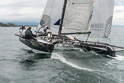 Geneva 24. September 2012<br /> Multihull Catamaran SL33 training in Geneva