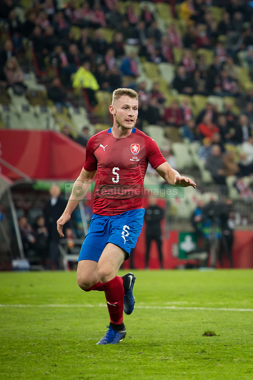 November 15, 2018 - Gdansk, Pomorze, Poland - Jakub Brabec (5) during the international friendly soccer match between Poland and Czech Republic at Energa Stadium in Gdansk, Poland on 15 November 2018  (Credit Image: © Mateusz Wlodarczyk/NurPhoto via ZUMA Press)