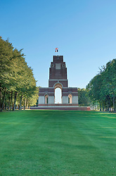 Thiepval Memorial to the Missing, Thiepval France...The Thiepval Memorial to the Missing of the Somme is a major war memorial to 72,090 missing British and Commonwealth men who died in the Battle of the Somme of the First World War and who have no known grave. It is located in France near village of Thiepval, Picardie...HDR photo created from 5 RAW photos processed in Lightroom with Photomatix Plugin.