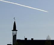 Minaret vid Medborgarplatsen i Stockholm.
