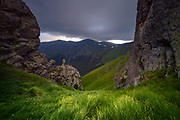 Peeshti Skali (Singing Rocks) reserve in Balkan Mountains