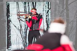 07.10.2016, Europapark, Salzburg, AUT, Praesentation der OeSV Winterkollektion, im Bild Simon Eder // Simon Eder during Fashion Show of the Presentation of OeSV winter collection of Austrian Ski Federation OeSV at the Europapark in Salzburg, Austria on 2016/10/07. EXPA Pictures © 2016, PhotoCredit: EXPA/ Johann Groder