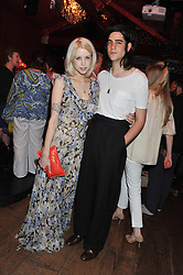 PEACHES GELDOF and TOM COHEN at Tunnel of Love - a fashion & art party in aid of The British Heart Foundation held at The Proud Gallery, Camden, London on 29th May 2012.