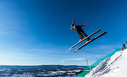 18.03.2018, Vikersundbakken, Vikersund, NOR, FIS Weltcup Ski Sprung, Raw Air, Vikersund, Finale, im Bild Johann Andre Forfang (NOR) // Johann Andre Forfang of Norway during the 4th Stage of the Raw Air Series of FIS Ski Jumping World Cup at the Vikersundbakken in Vikersund, Norway on 2018/03/18. EXPA Pictures © 2018, PhotoCredit: EXPA/ JFK