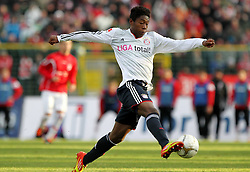 15.01.12, Erfurt, Steigerwaldstadion, GER, 3.Liga, Freundschaftsspiel, FC Rot Weiss Erfurt vs FC Bayern München im Bild David Alaba (Bayern) // during the friendly match between FC Rot Weiss Erfurt and FC Bayern Munich, Erfurt Germany on 12/01/15EXPA Pictures © 2012, PhotoCredit: EXPA/ nph/ Hessland..***** ATTENTION - OUT OF GER, CRO *****