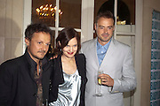 JOHNNY YEO; ; ELIZABETH MCGOVERN; JAMIE THEAKSTON, Imogen Edwards-Jones - book launch party for ' Hospital Confidential' Mandarin Oriental Hyde Park, 66 Knightsbridge, London, 11 May 2011. <br />  <br /> -DO NOT ARCHIVE-© Copyright Photograph by Dafydd Jones. 248 Clapham Rd. London SW9 0PZ. Tel 0207 820 0771. www.dafjones.com.