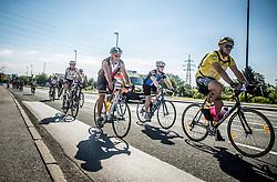 Riders during 156km race at 36th Marathon Franja BTC City 2017, on June 11, 2016 in Dolgi most, Ljubljana, Slovenia. Photo by Vid Ponikvar / Sportida