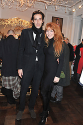 CHARLIE FORBES and CHARLOTTE TILBURY at a party to celebrate thelaunch of Alice Temperley's flagship store Temperley, Bruton Street, London on 6th December 2012.