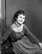 Mullingar Choral Society Production of 'Desert Song'.28/11/1956