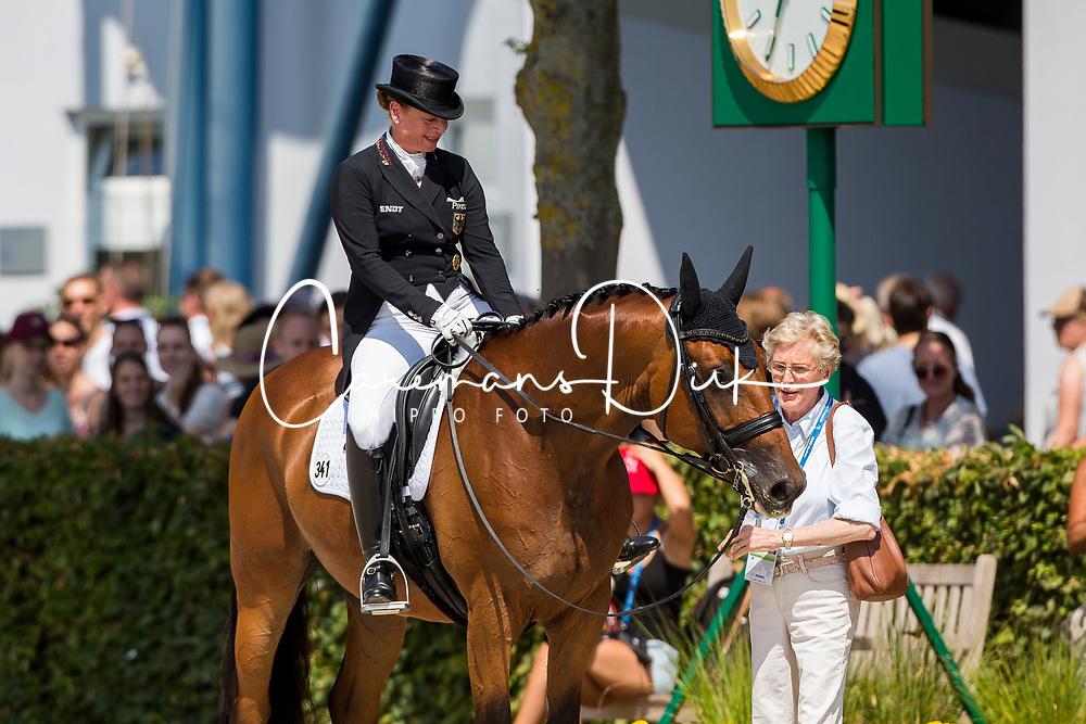 Werth Isabell, GER, Emilio<br /> Aachen 2018<br /> © Hippo Foto - Sharon Vandeput<br /> 22/07/18