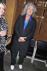 BRIAN MAY at the Pig Business Fundraiser, Sake No Hana, St.James's, London on 26th September 2012.