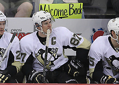 March 17, 2012: Pittsburgh Penguins at New Jersey Devils