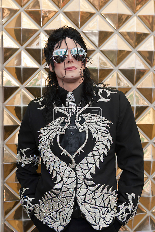 24th February 2011. Las Vegas, Nevada.  Celebrity Impersonators from around the globe were in Las Vegas for the 20th Annual Reel Awards Show. Pictured is Michael Firestone as the late King Of Pop, Michael Jackson. Photo © John Chapple / www.johnchapple.com..