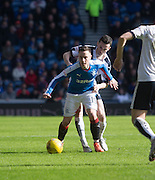 Rangers&rsquo; Barrie McKay and Dundee&rsquo;s Paul McGinn - Rangers v Dundee, William Hill Scottish Cup quarter final at Ibrox Park<br /> <br />  - &copy; David Young - www.davidyoungphoto.co.uk - email: davidyoungphoto@gmail.com