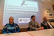 Premiazioni Fidal Trentina, migliori atleti e società del 2016, Trento 24 marzo 2017 © foto Daniele Mosna