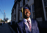 Happy High School Graduate in Richmond, VA.