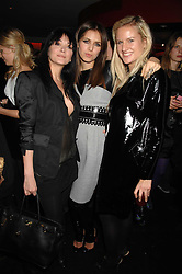 Left to right, ANNABELLE NEILSON, DASHA ZHUKOVA and OLYMPIA SCARRY at a party to celebrate the launch of the Kova & T fashion label and to re-launch the Harvey Nichols Fifth Floor Bar, held at harvey Nichols, Knightsbridge, London on 22nd November 2007.<br />