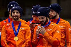 14-01-2018 DUI: ISU European Short Track Championships 2018 day 3, Dresden<br /> Nederland wint de 5000 meter relay