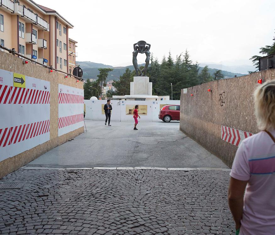 Fontana luminosa L'Aquila